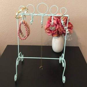 Light Blue Jewelry Stand- NWOT